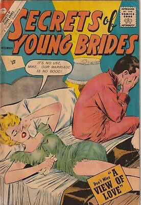 Secrets Of Young Brides. Number 34. Charlton Comics 1962. . 10 Cent Romance.