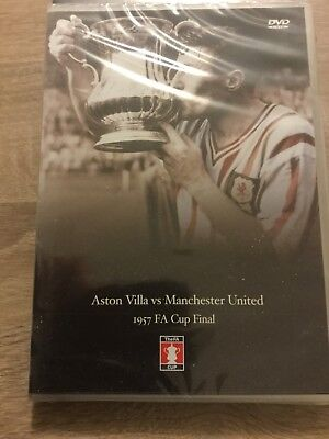 Aston Villa vs Manchester United 1957 FA Cup Final DVD