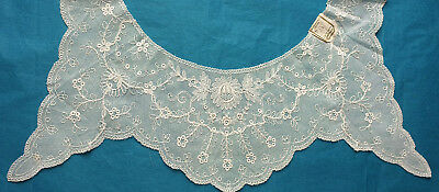 Antique 1930s  lingerie lace bodice top - unused with label
