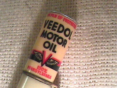 """Vintage Advertising Veedol Motor Oil """"can Topper"""" Ritepoint Mechanical Pencil !!"""