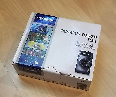 Olympus TG-1 Tough Camera - waterproof - silver - excellent