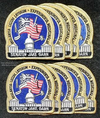LMH PATCH Badge NASA SPACE SHUTTLE Columbia 1995 STS-73 USML Bowersox Rominger b