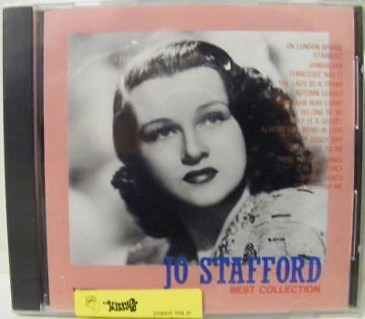 Rare Jo Stafford Best Hit Songs Collection  Japanese Import Music Cd New Sealed