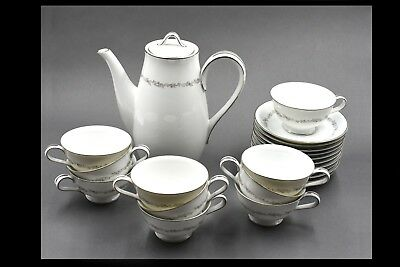 Noritake Crestmont China - Coffee Service and Luncheon Plates