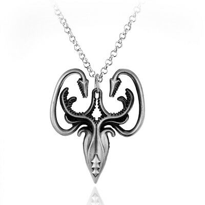 Game of Thrones House Greyjoy A Song of Ice and Fire Kraken Pendant Necklace