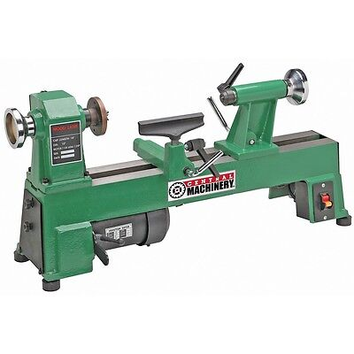 """5 SPEED BENCH TOP WOOD LATHE 10"""" x 18"""" HEAVY DUTY CAST IRON - UP to 3200 RPM's"""