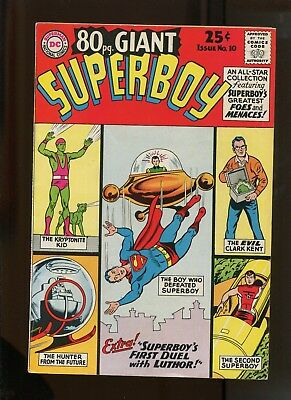 Dc 80 Page Giant #10 (7.5) First Duel With Luthor!
