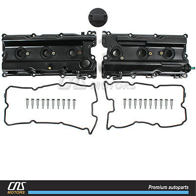 New Valve Cover Set for 05-17 NISSAN Frontier Pathfinder Xterra NV1500 2500 4.0L