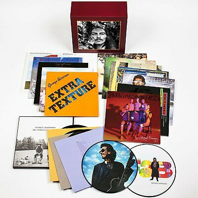 """George Harrison The Complete Vinyl Collection 16 vinyl LP / 12"""" Box NEW/SEALED"""
