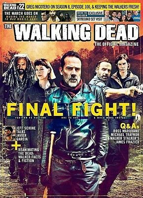 The Walking Dead TV Series Official Magazine Issue 22 (Final Issue) NEW 2017