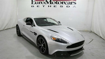 2014 Aston Martin Vanquish 2dr Coupe aston martin vanquish coupe 13 14 15 silver used navigation v12 black leather