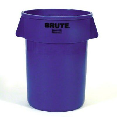 Rubbermaid 264360BLUE Brute Garbage Can, 44 Gallon, Blue