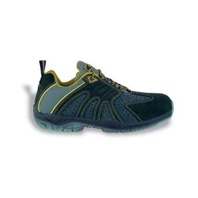 """Cofra 30160-000.W39 Size 39 S1 P SRC """"Match Point"""" Safety Shoes - Blue/Yellow"""