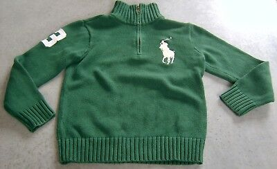 Ralph Lauren Boys Cotton Jumper Sz 6 - 7