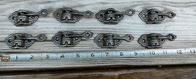 4 Antique  Victorian Era Cast Iron Brackets. Champion shelf co Springfield ohio