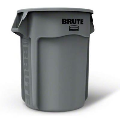 Indestructible.  Guaranteed.  Rubbermaid 2655 Brute Trash Can, 55 gallon, Gray