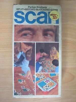 Scan - Split Second Matching Game - Parker Brothers - Made in 1970 - Complete