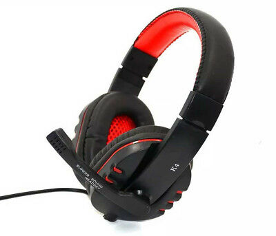 Cuffie Gaming per PC MAC XBOX ONE Auricolare con Microfono e Controllo Volume