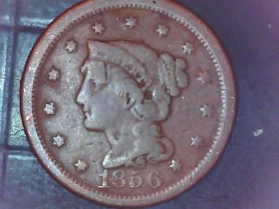 1856 Large Cent Combined Shipping