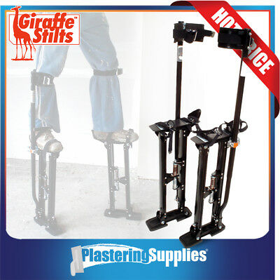 "Giraffe Plastering Stilts LARGE Size 24"" to 40"" Magnesium"
