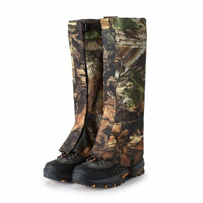 1 Pair Outdoor Hiking Hunting Snow Snake Waterproof Boots Legging Gaiters L/XL
