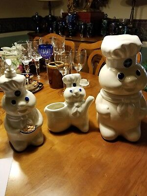 Collection of Pillsbury Doughboy Items- Includes Nice Cookie Jar & More!