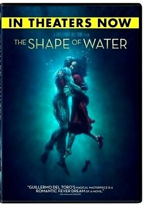 The Shape of Water (DVD,2017)NEW* Drama, Romance* PRE-ORDER SHIPS ON 03/13/18