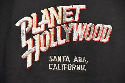 old NEW Planet Hollywood Santa Ana California SweatShirt size MEDIUM NWOT shirt