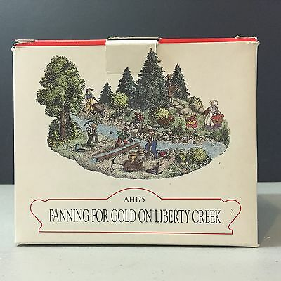 "Liberty Falls ""Panning For Gold On Liberty Creek"" AH175 In Original Box! New"