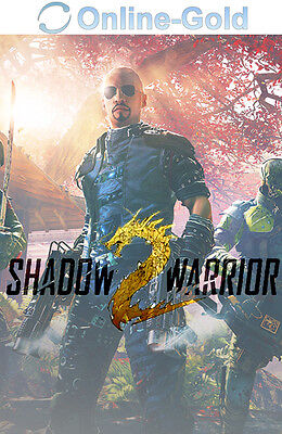 Shadow Warrior 2 II Key - STEAM Digital Download Code - PC Spiel Neu [DE][EU]