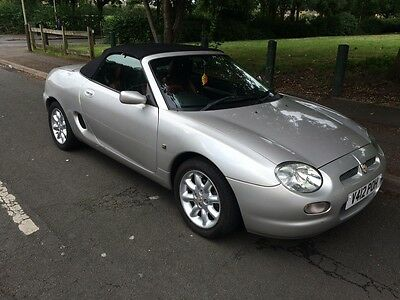 1999 Mgf Only 66000 Miles Fsh Red Leather Documented History Cambelt  Moted