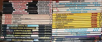 Super Mega Lotto Bonelli 42 Albi Judas Zagor Tex Julia Nick Raider Dylan Dog