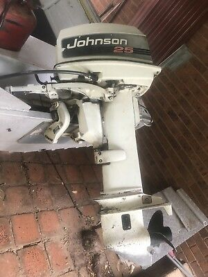 25Hp Johnson Outboard Motor