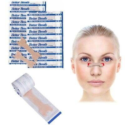 Anti Snoring Nasal Strips Better Breathe Aid to Stop Snoring Easy Sleep No Snore