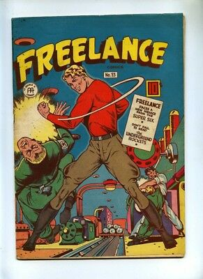 Freelance Comics #33 - Anglo American Publishing 1946 - VG+ - Canadian Issue