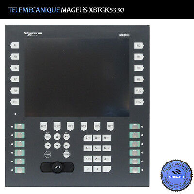 XBTGK5330  Schneider Telemecanique MAGELis XBT-GK5330 Panel Touch color / Used