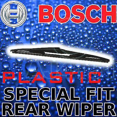 Bosch Specific Fit Rear Plastic Wiper For Nissan Micra 05on