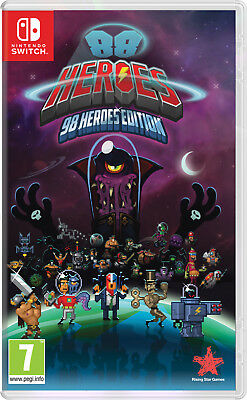 88 Heroes 98 Heroes Edition Nintendo Switch Game | BRAND NEW & SEALED