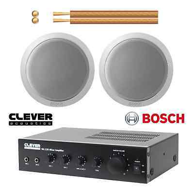 Bosch Small Background Music System - 2 x Ceiling Speakers