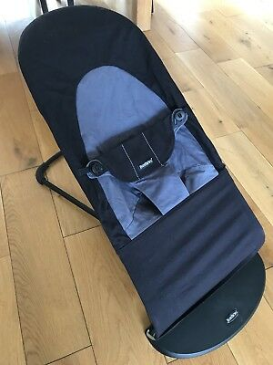 Baby Bjorn Balance Soft Bouncer Black/Grey