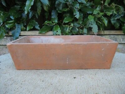 """Rare Old  Terracotta Seed Pan  Plant Pot  12"""" (1151c)"""