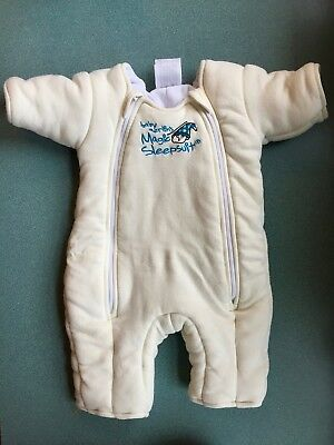 Baby Merlin's Magic Sleepsuit 6-9 Months Large