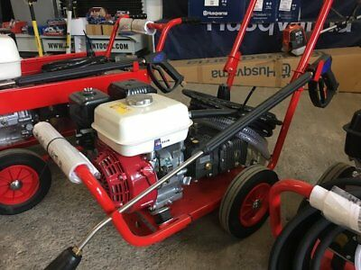 New 6.5HP Honda Petrol Pressure JET POWER Washer 14LTRS/MIN With 2:1Gearbox