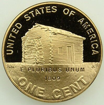 2009 S Proof Lincoln Birth and Childhood Cent Penny (B01)
