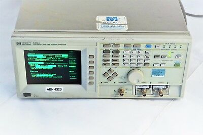 5372A Frequency And Time Interval Analyzer