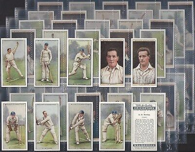 Wills-Full Set- Cricket Ers (2Nd Series 50 Cards) - Exc