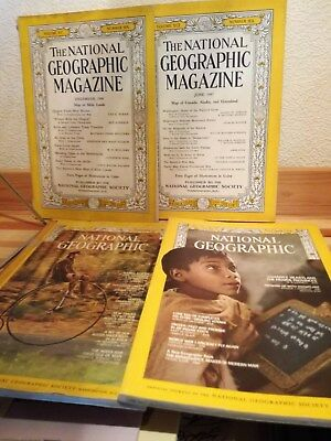 National Geographic Magazines vintage Lot