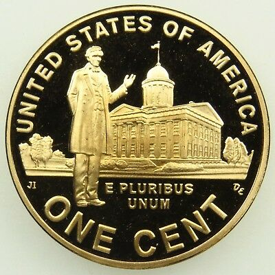 2009 S Proof Lincoln Professional Life Cent Penny (B04)