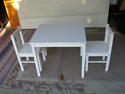 IKEA Kids Table & 2 Chairs