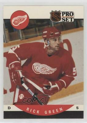 1990-91 Pro Set #436 Rick Green Detroit Red Wings Hockey Card